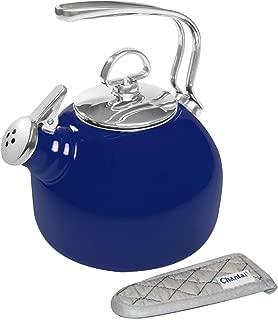 Chantal Enamel-On-Steel Classic Teakettle, Cobalt Blue