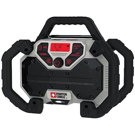 Porter Cable PCCR701B 20V MAX Corded/Cordless Jobsite Radio