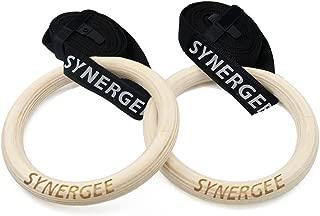Synergee Wood Olympic Gymnastics Rings - 1.25