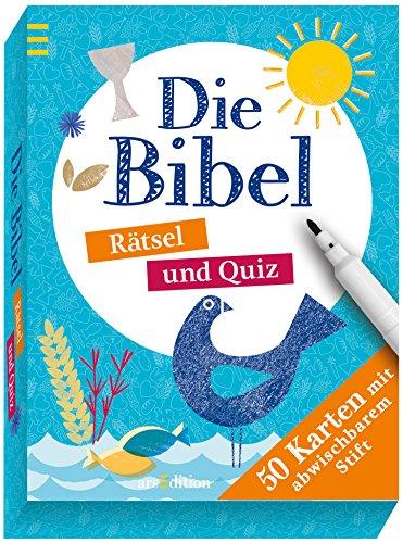Die Bibel: Rätsel und Quiz (50 Karten)
