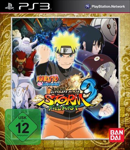 Namco Bandai Games Naruto Shippuden: Ultimate Ninja Storm 3 FULL BURST PS3 Básico PlayStation 3 vídeo - Juego (PlayStation 3, Lucha, Modo multijugador)