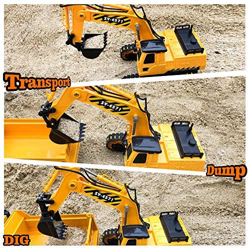 Gili RC Excavator Toy, Remote Control...