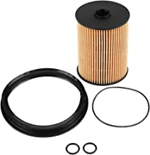 Qiilu Fuel Filter Kit with O-Rings In-Tank 16146757196 for BMW Mini Cooper 2002-2008 R50 R52 R53 A898