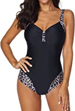 UOKNICE Swimwear for Womens, Summer Beach Siamese Set Push-Up Stripe Beachwear Tankini Bikini