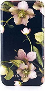 Ted Baker AW18 Fashion Mirror Folio Case for Apple iPhone 8/7, Protective Cover for Professional Women/Girls - Arboretum