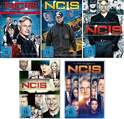 Navy CIS / NCIS Staffel 12+13+14+15+16 im Set - Deutsche Originalware [30 DVDs]