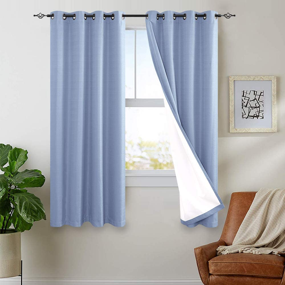 Very popular jinchan Lined Thermal Blackout Curtains Living Ranking TOP11 Bedroom Room for