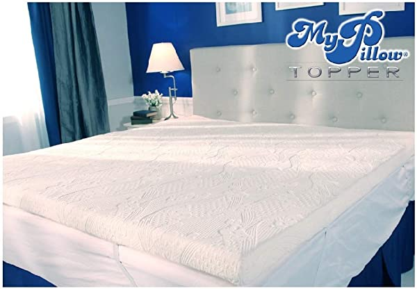 MyPillow My Pillow Three Inch Mattress Bed Topper Twin XL