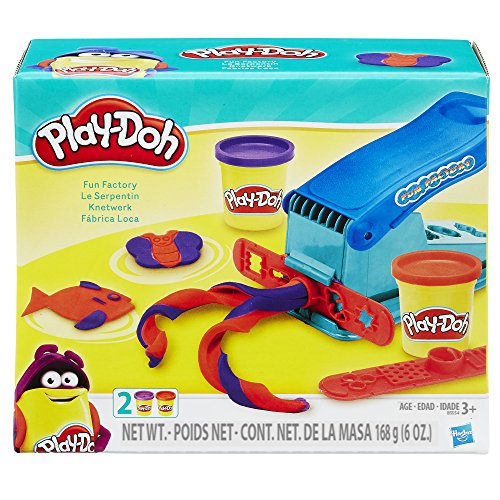 Product Image of the Play-Doh Basic Fun Factory Shape Making Machine with 2 Non-Toxic Play-Doh Colors