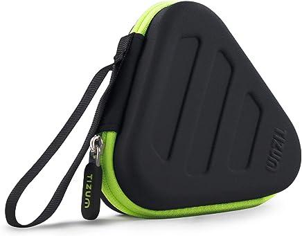 Tizum Z13 Earphone Carrying Case for Earphones, Bluetooth Headset, Pen Drives, SD Cards (Black)