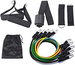 Anjing 11-delige Resistance Band Set Oefening Weerstand Band voor Stretching