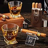 Oakmont Custom Cigar Gift Set with Twist Glasses (Personalized Product)