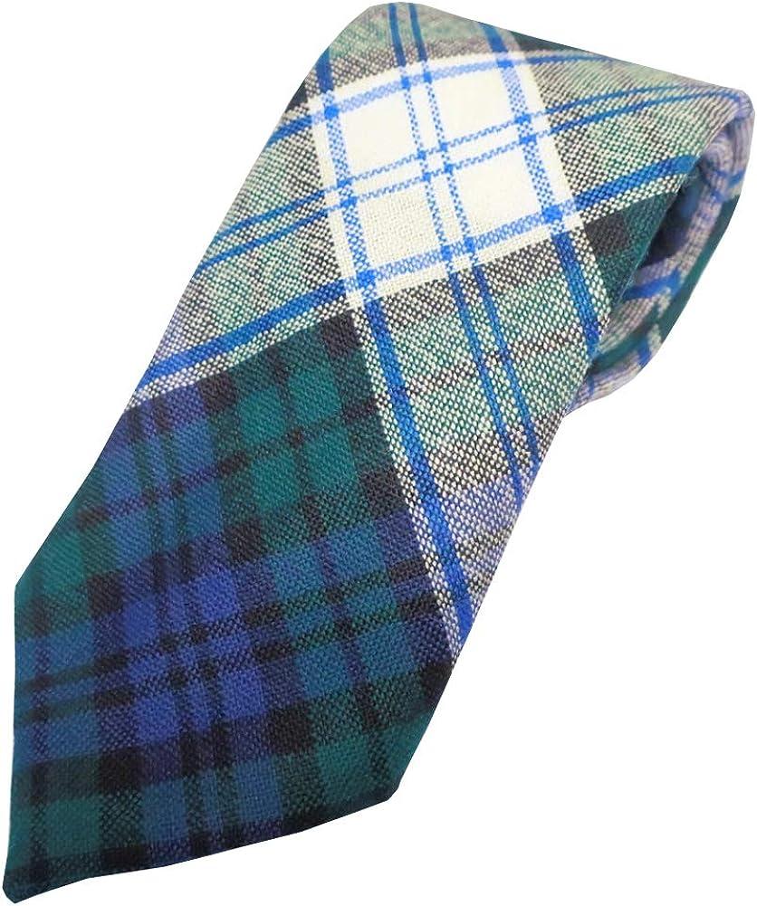 Ingles Buchan Mens Scottish Wool Tartan Tie