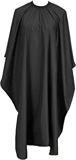 "TraderPlus Black Hair Cut Hairdressing Hairdressers Barbers Cape Gown 57""x47"""