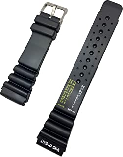 24mm Black Rubber PVC Material Watch Band   Comfortable, Thick, Heavy Duty, and Durable Replacement Wrist Strap That Brings New Life to Any Watch for Men and Women