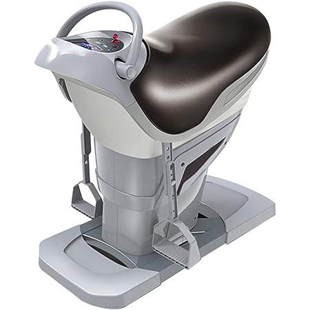 電気乗馬マシンホームフィットネス機器脂肪燃焼と整形乗馬有酸素減量アーティファクト,グレー