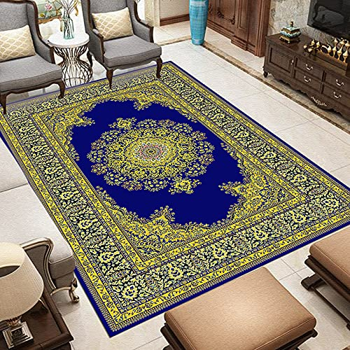 NHhuai Tappeto Moderno per Soggiorno Tappeto Tessuto Moderno Stile Tappeti Stampati creativi per la casa, la Camera da Letto e Il Soggiorno