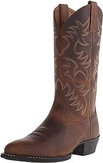 Stivali da Uomo a met脿 Polpaccio Scarpe Vintage in Pelle PU Slip On Uomo Slip On Cowboy Autunno Inverno Chelsea Stivali da...