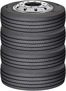 Michelin XRV Commercial Truck Radial Tire-235/80R22.5 0Q (Pack of 4 Tires)