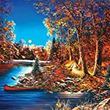Wooden Jigsaw Puzzle - Still of The Night by Jim Hansel- 245 Pieces. Made in USA by Nautilus Puzzles