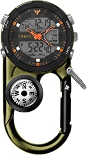 Dakota Watch Company II Analog & Digital Clip Watch