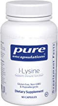 Pure Encapsulations - l-Lysine - Hypoallergenic Supplement Helps Maintain Healthy Arginine Levels and Immune Function* - 90 Capsules