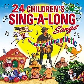 24 Children's Sing-a-Long Songs