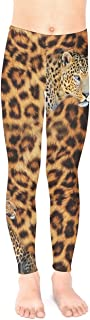 Toddler Girls Stretchy Tights Lion Jungle Animals Dogs Pug Space Pets Long Unisex Leggings for 2-13yrs