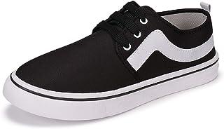 2ROW Men's Canvas Black Sneakers