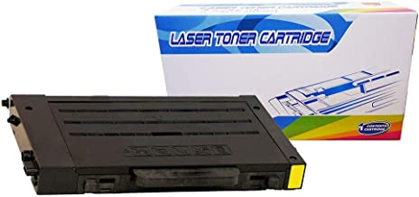 Inktoneram Compatible Toner Cartridge Replacement for Samsung CLP-510 CLP510 CLP-510D5Y CLP-510N CLP510N (Yellow)