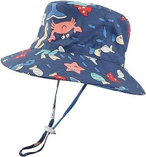 LACOFIA Sombrero de Sol bebé Gorro Verano para niños