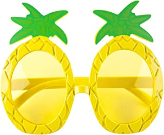 SunnyLIFE UV 380 Sunnies - Sunglasses w/Fun Summer Designs - Pineapple Yellow