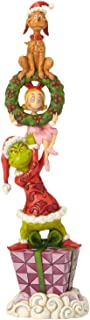 Enesco Dr. Seuss The Grinch by Jim Shore Stacked Characters Figurine, 13.39