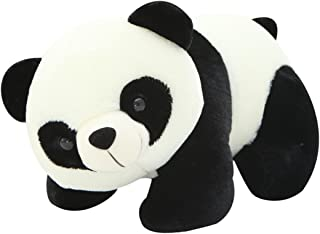 VSFNDB Panda Stuffed Animal Plush Toy 12 Inch Small White Panda Bear Collection Child Huggable Pillow Cushion - Super Soft Cuddly Dolls Toys for Kids Children Girls Boys Gifts, Panda, 12Inches
