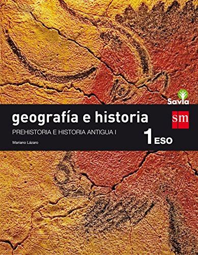 Geografía e historia. 1 ESO. Savia: Cantabria, Navarra y La Rioja - 9788467586688