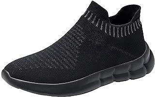 LANCROP Mens Mens Walking Shoes