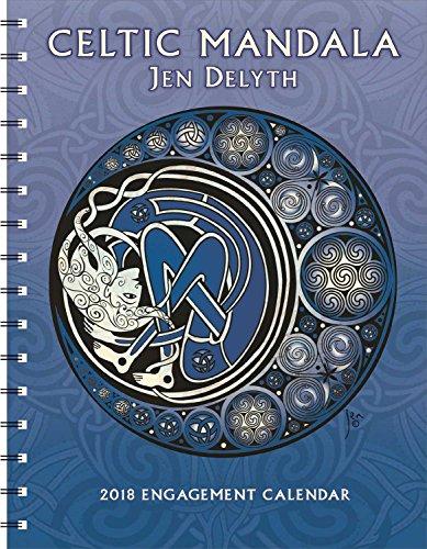 Celtic Mandala 2018 Engagement Datebook Calendar
