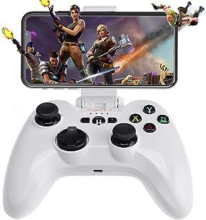 Bezprzewodowy kontroler do gier iOS, Gampad Joystick obsługa dla iPhone 13 iPhone Xs, XR X, 8 Plus, 8, 7 Plus, 7 6S 6 5S ...