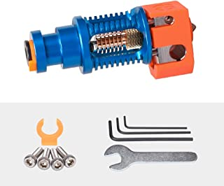 Phaetus Dragon Hotend 3D Printer Accessories Dragon All Metal Hotend Standard High Flow Rate Extruder Compatible with Prusa I3 MK3 Titan Extruder BMG Extruder (High Flow in Blue)