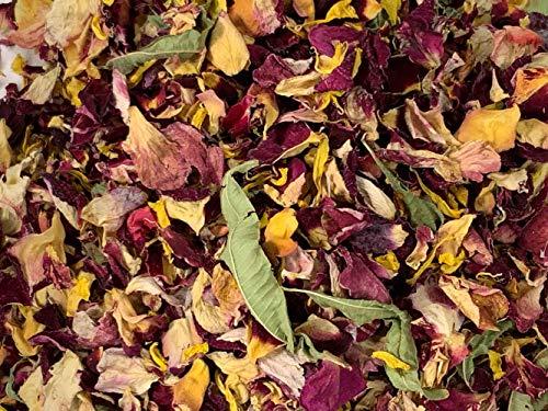 Coriandoli da matrimonio con petali naturali, biodegradabili, adatti per 10-12 ospiti. Passeggiata nel bosco