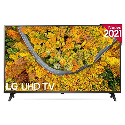 "LG 43UP7500-ALEXA 2021-Smart TV 4K UHD 108 cm (43"") con Procesador Quad Core, HDR10 Pro, HLG, Sonido Virtual Surround, HDMI 2.0, USB 2.0, Bluetooth 5.0, WiFi"