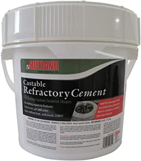 Rutland Products 25 lbs Castable Refractory Cement, Taupe