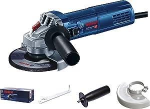 Szlifierka kątowa GWS 9-125 S Bosch Professional (900 W, Ø tarczy 125 mm, rękojeść dodatkowa, osłona, klucz maszynowy, opa...