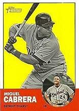 2012 Topps Heritage #348b Miguel Cabrera Detroit Tigers MLB Baseball Card (SP - Short Print) NM-MT