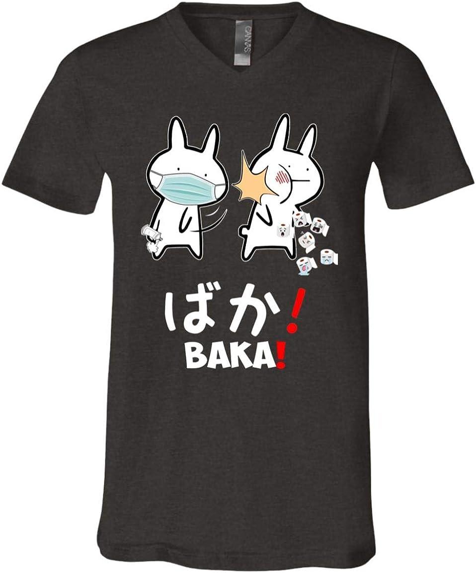Funny Baka Rabbit Slap Meme T-Shirt Quarantine 激安卸販売新品 2020 Japanimation 受注生産品