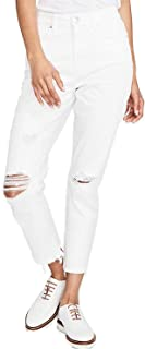 RACHEL Rachel Roy Womens Distressed Destructed Cropped Jeans