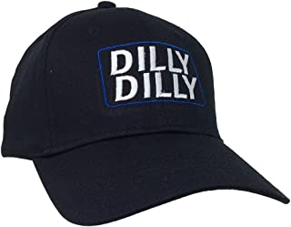 Funny Beer Drinking Dilly Dilly Adult Baseball Cap, Black