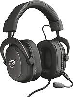 Trust Cuffie Gaming GXT 414 Zamak con Flessibile Microfono Staccabile e Archetto Regolabile, 3.5 mm Jack, Filo, Over...