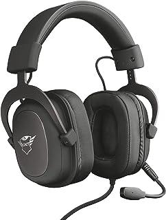 Trust Cuffie Gaming GXT 414 Zamak con Flessibile Microfono Staccabile e Archetto Regolabile, 3.5 mm Jack, Filo, Over Ear, ...