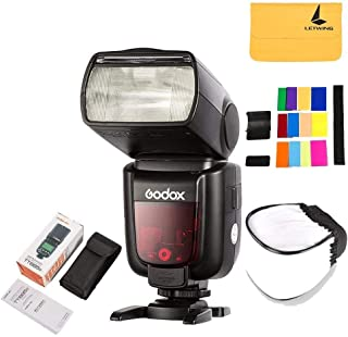GODOX TT685C Thinklite TTL Camera Flash 2.4GHz High Speed 1/8000s GN60 Compatible for Canon EOS Cameras E-TTL II Autoflash (TT685C)
